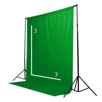 Зеленый экран Green GB+ 3 x 3 Анти блик
