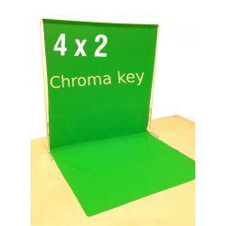 Green screen 2 x 4 на пол Анти блик
