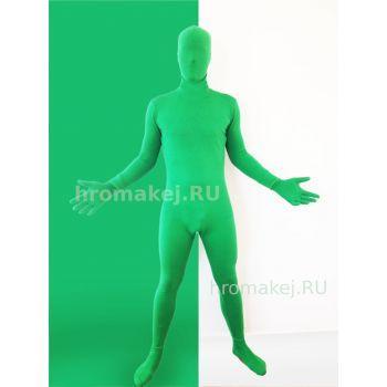 Костюм хромакей зелёный