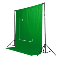 ХРОМАКЕЙ Green GB+ 2 x 3 Трансформируемый